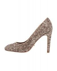 Only Onlpina Classic Heels Gold Glitter