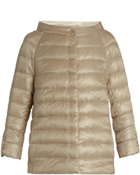 Herno Boat Neck Quilted Down Jacket