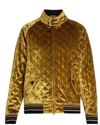 Gold Quilted Jacket