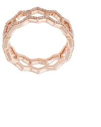 Astley Clarke Honeycomb Diamond Band Ring