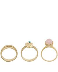 Iosselliani Puro Satyr Set Of Three Rings