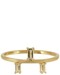 Elise Dray Topaz Yellow Gold Ring