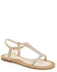 Stuart Weitzman Camia Doraly Crystal Embellished Sandal