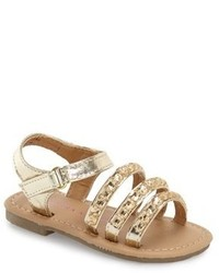 Laura Ashley Crystal Embellished Ankle Strap Sandal