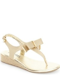 MICHAEL Michael Kors Michl Michl Kors Perry Crysty Espadrille Wedge Sandal