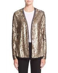 Trina Turk Lucida Sequin Jacket