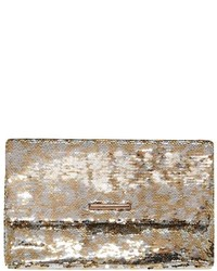 Dorothy Perkins Silver Two Tone Sequin Clutch
