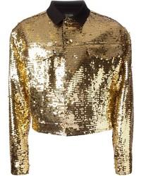 Vintage sequinned jacket medium 112240