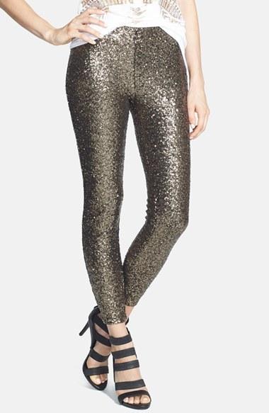 Lucy Paris Shasta Sequin Leggings