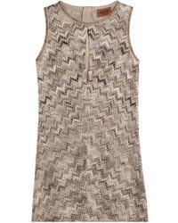 Missoni Mini Dress With Metallic Thread