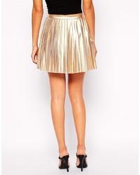 Jovonna School Of Rock Pleated Mini Skirt