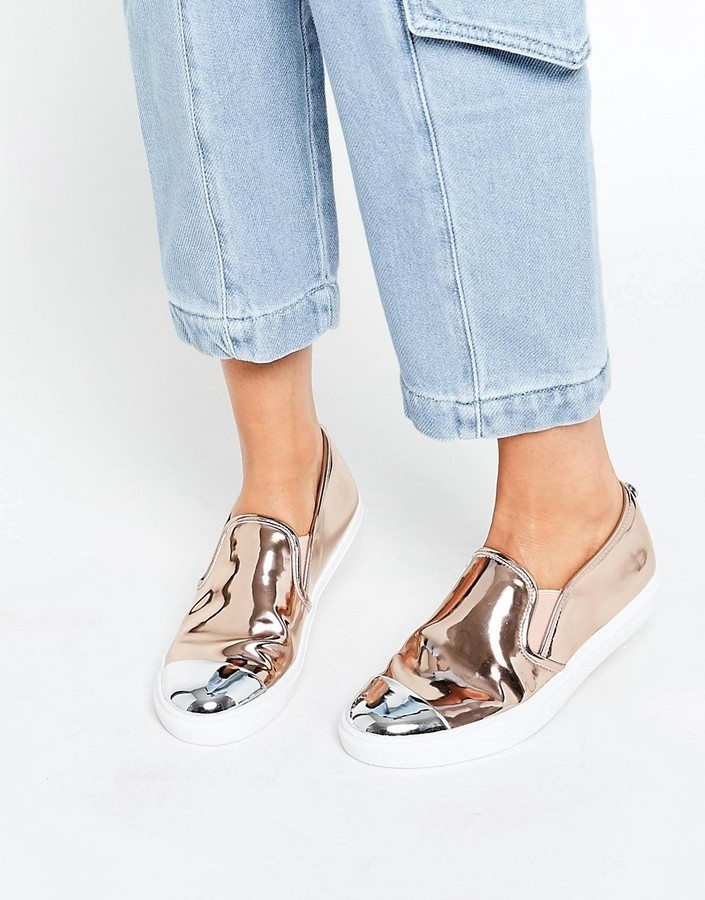 Fe ciega Articulación parrilla  slip on rose gold shoes coupon code for 4a26f d2e13