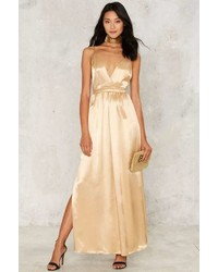 Nasty Gal After Party By Wanna Take My Place Maxi Dress