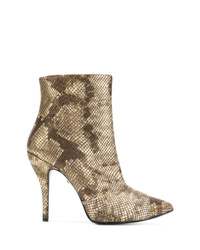Just Cavalli Snakeskin Effect Boots