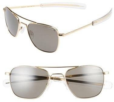 e91f148005b7 Randolph Engineering 52mm Polarized Aviator Sunglasses, £188 ...