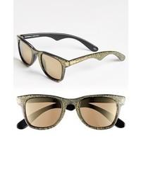Carrera Eyewear Carrera By Jimmy Choo 50mm Sunglasses Gold Glitter One Size