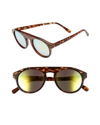 Leith Echo Sunglasses Tortouise Gold One Size