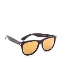 Saint Laurent Sl 101 Surf Mirrored Sunglasses