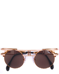 Cazal Tortoiseshell Round Sunglasses