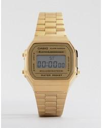CASIO A168wg 9ef Gold Plated Digital Watch