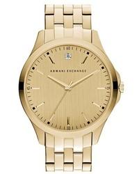 Armani Exchange Ax Diamond Marker Bracelet Watch 46mm
