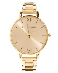Olivia Burton Big Dial Gold Bracelet Watch