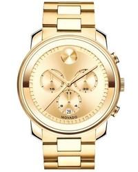 Movado Bold Chronograph Bracelet Watch 44mm
