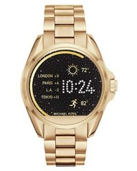 Michael Kors Access Bradshaw Watch Gold Coloured