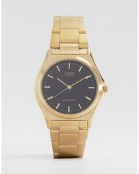 CASIO Gold Stainless Steel Strap Watch Mtp1130n 1a