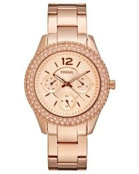 Decker watch rosegold coloured medium 4123905