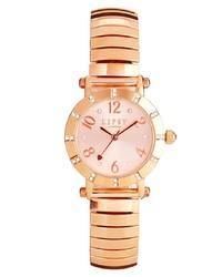 Lipsy Gold Diamond Dial Watch