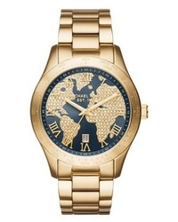 Michael Kors Layton Watch Gold Coloured