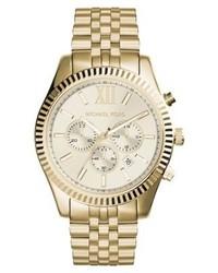 Lexington chronograph watch gold medium 4135968