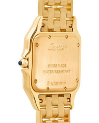 Cartier Panthre De 27mm Medium 18 Karat Gold Watch