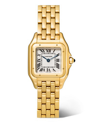 Cartier Panthre De Small 22mm 18 Karat Gold Watch