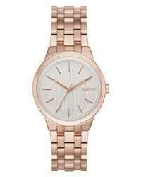 DKNY Park Slope Watch Rosegold Coloured