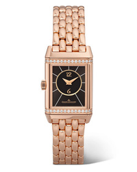 Jaeger-LeCoultre Reverso Classic Duetto Small 21mm Gold And Diamond Watch