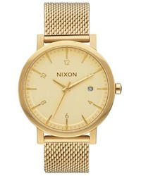 Nixon Rollo Mesh Strap Watch 38mm