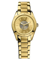 Tommy Hilfiger Round Bracelet Watch 30mm Gold