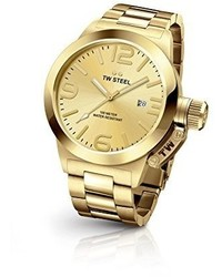 TW Steel Cb101 Analog Display Quartz Gold Watch