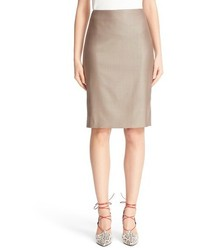 Wool blend pencil skirt medium 1151304