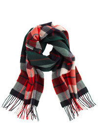 Green and Red Scarf