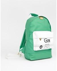 Mi-pac X Tatty Devine Mini Green Gin Backpack
