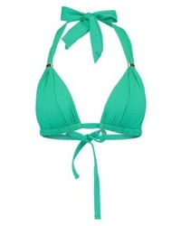 Ralph Lauren Beach Club Bikini Top Emerald