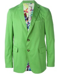 Etro Button Blazer