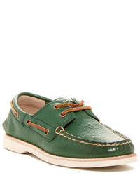 Green Boat Shoes