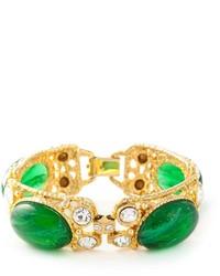 Moschino Vintage Cabochon Bracelet