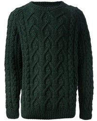 Cable knit sweater medium 524