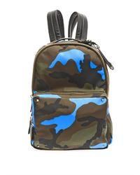 Valentino Fluro Pop Camouflage Backpack