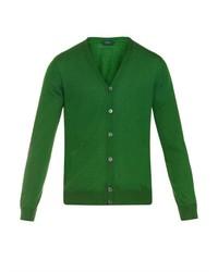 Cashmere and silk blend cardigan medium 322188